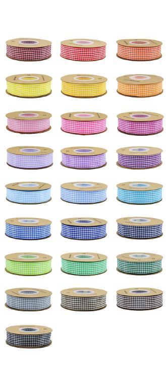 custom color latticed ribbon