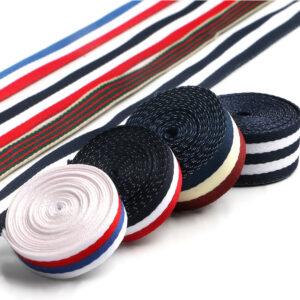 striped webbing