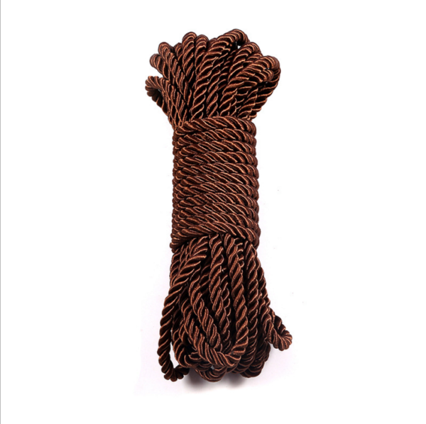 brown polyester twisted rope