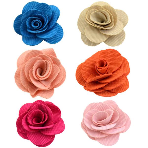 Custom ribbon rose flower