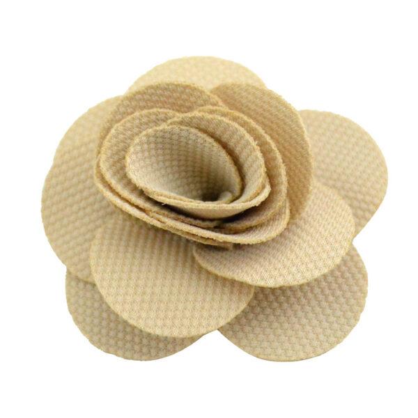 raw white ribbon rose flower