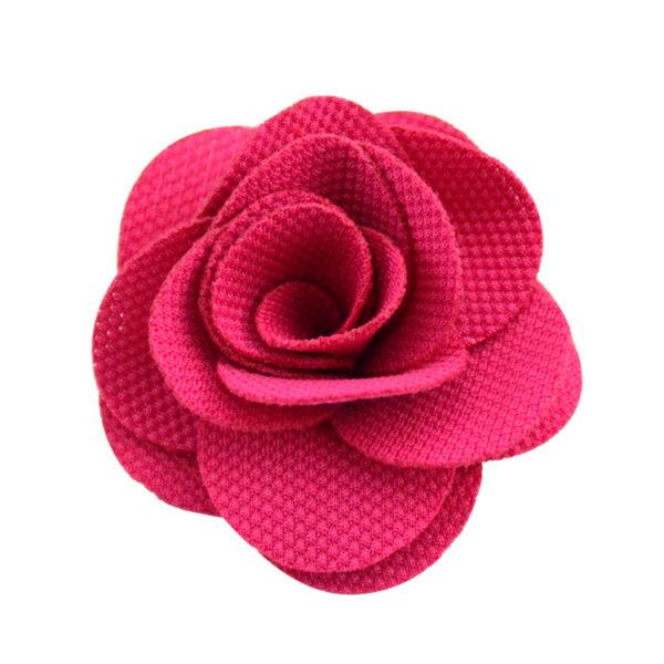 Rose color ribbon flower