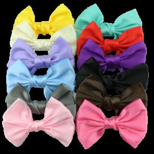 10cm polyester ribbon bow