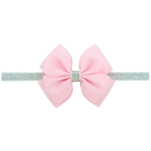 pink hair bow for kids
